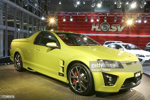 Maloo R8 is displayed at the 2007 Australian International Motor Show at the Sydney Convention and Exhibition Centre on October 11 2007 in Sydney...