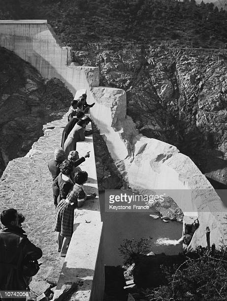 Malpasset Dam After The Breaking At Frejus In France On December 3Rd 1959