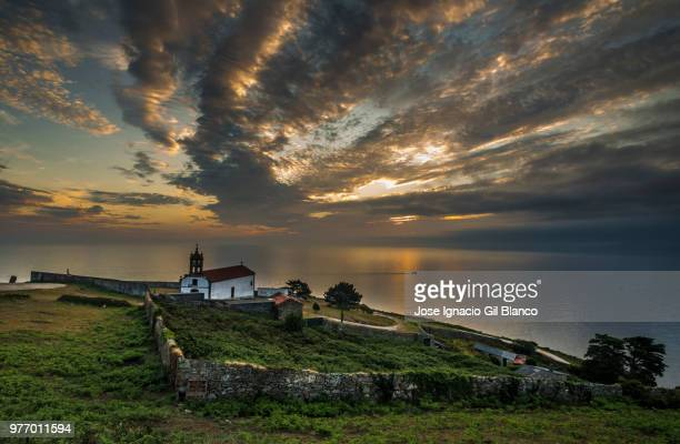 malpica - jose ignacio lighthouse stock photos and pictures