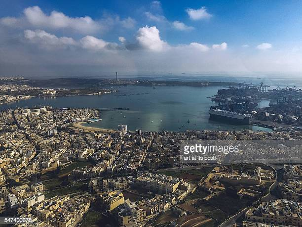 Malta from above