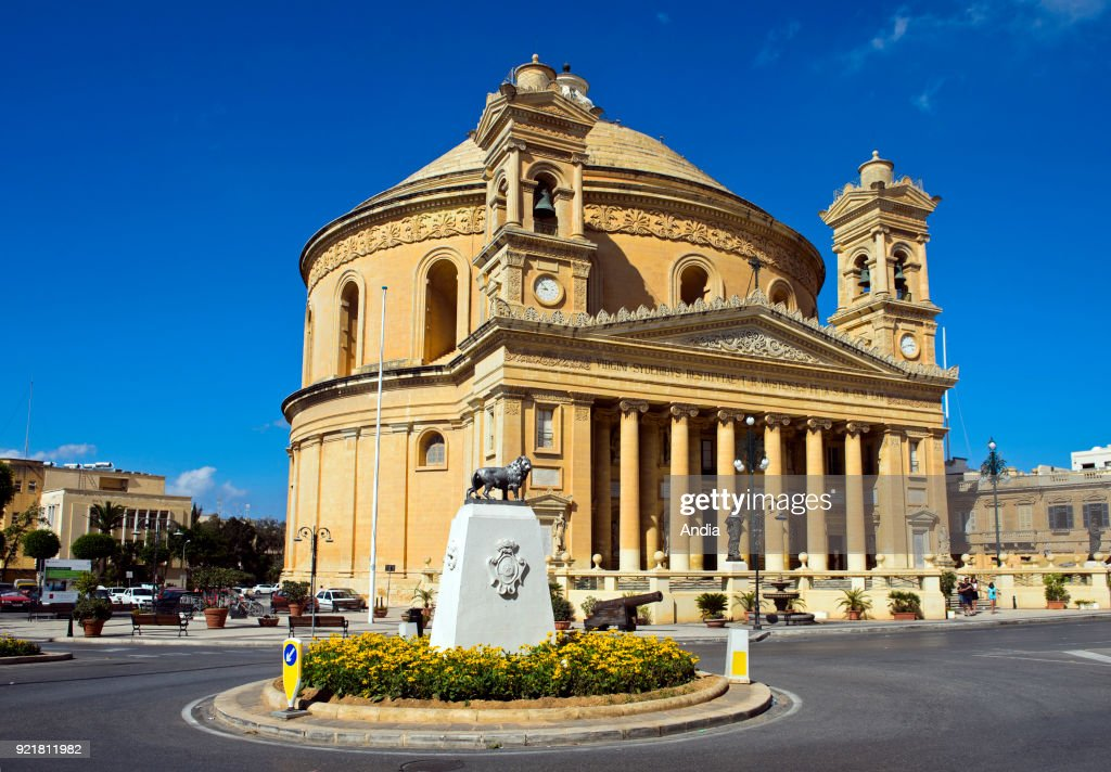 Parish Church of the Assumption, commonly known as the Rotunda of Mosta or the Mosta Dome.