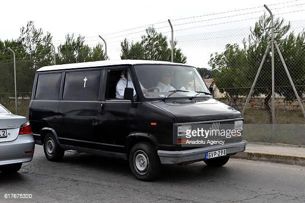 Gallo Images - 617675320 - luqa malta malta police mortuary car