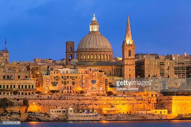 Malta, Valletta at Dusk