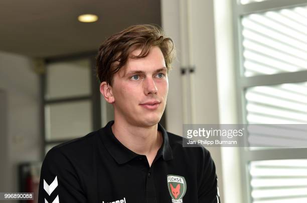 Malte Semisch during the media talk at FuechseTown on july 11 2018 in Berlin Germany