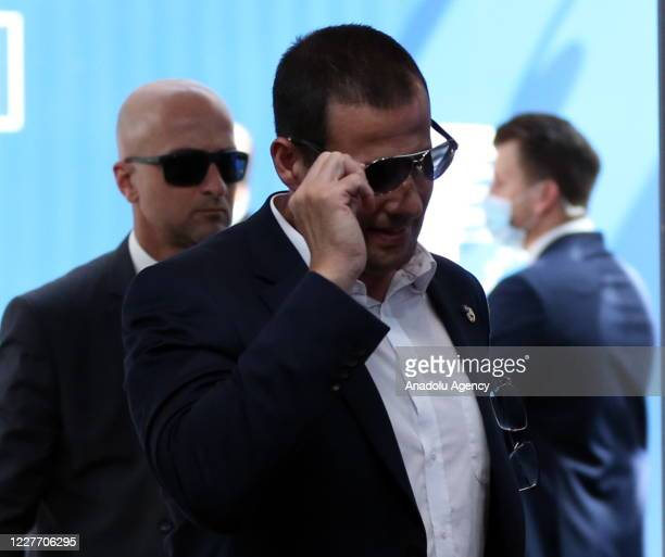Maltese Prime Minister Robert Abela attends European Union Leaders Summit in Brussels Belgium on July 20 2020 The leaders of the 27 EU member states...