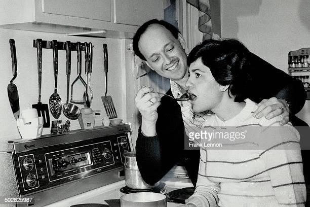 Malteseborn Richard Cumbo an information clerk for the Rent Review Board serves wife Madlene some inbuljuta a Maltese hot toddy made from chestnuts