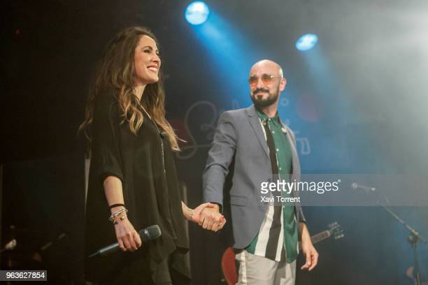 Malu and Abel Pintos performs in concert at Bikini on May 29 2018 in Barcelona Spain