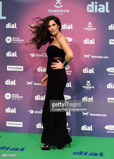 Malu attend the 'Cadena Dial' Awards 2018 red carpet on March 15 2018 in Tenerife Spain