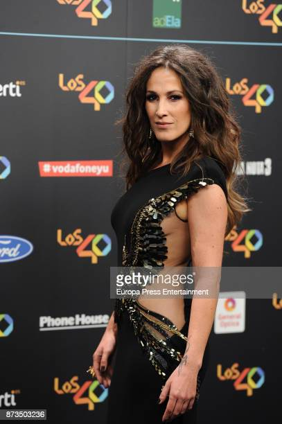 Malu attends '40 Principales Awards' 2017 on November 10 2017 in Madrid Spain
