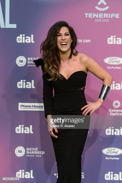 Malu attends 'Cadena Dial' Awards 2018 Red Carpet on March 15 2018 in Tenerife Spain
