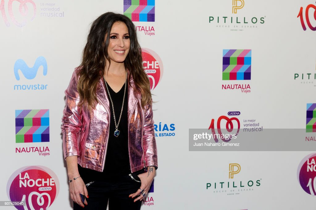 Malu attends 'La Noche De Cadena 100' charity concert at WiZink Center on March 24, 2018 in Madrid, Spain.