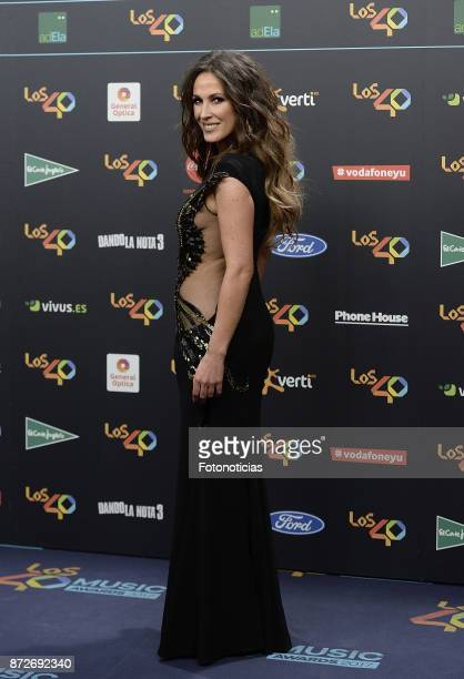 Malu attends 'Los 40 Music Awards' photocall at the WiZink Center on November 10 2017 in Madrid Spain