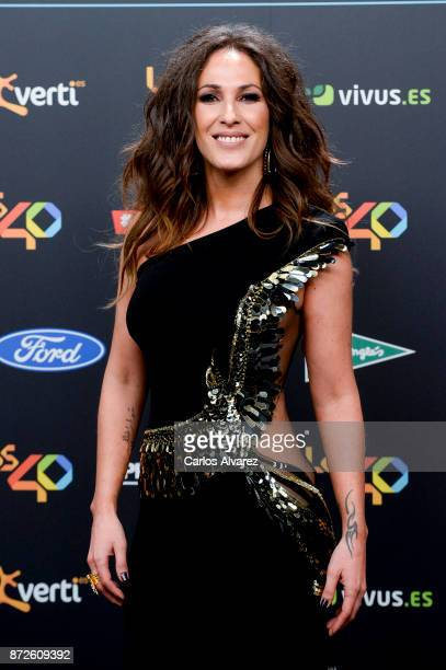 Malu attends 'Los 40 Music Awards' photocall at WiZink Center on November 10 2017 in Madrid Spain