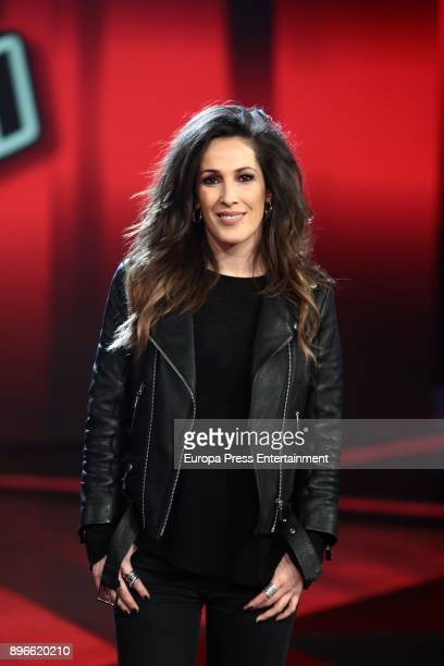 Malu attends the presentation of the final of the fith edition of 'La Voz' Tv programme on December 20 2017 in Madrid Spain