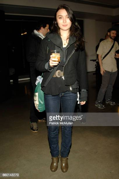 Malu Byrne attends MILK GALLERY and The Photographers' Gallery Presents Photography Project In New York Photos by MIKE FIGGIS at Milk Studios on...