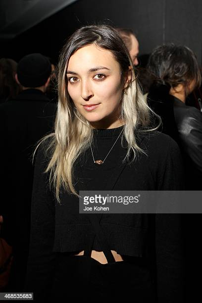 Malu Byrne attends the Assembly New York presentation duirng MercedesBenz Fashion Week Fall 2014 at The National Arts Club on February 10 2014 in New...
