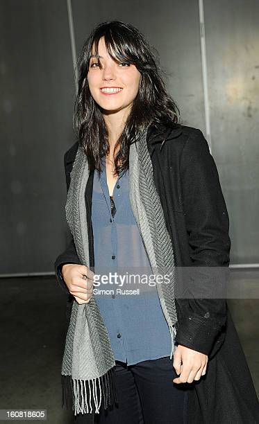 Malu Byrne attends the Creatures Of Comfort presentation during Fall 2013 MercedesBenz Fashion Week at Pier 59 on February 6 2013 in New York City