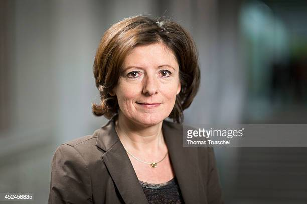 Malu Dreyer SPD MinisterPresident of the state of RhinelandPalatinate and leader of the Social Democratic Party in North RhineWestphalia poses during...