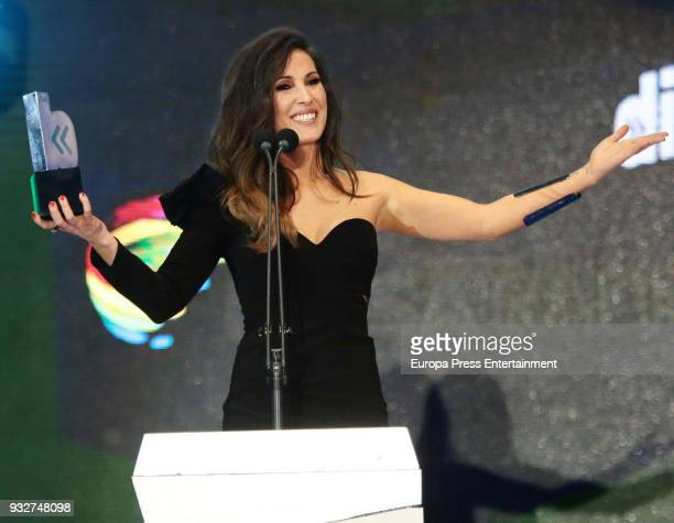 Malu during the 'Cadena Dial' Awards gala 2018 on March 15 2018 in Tenerife Spain