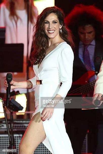 Malu performs during the 2015 Person Of The Year honoring Roberto Carlos on November 18 2015 at Mandalay Bay in Las Vegas Nevada