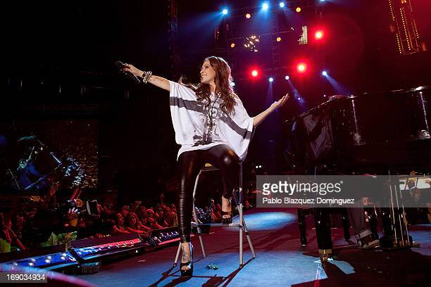 Malu performs live on stage at the Primavera Pop 2013 music festival in Palacio de Vistalegre on May 18 2013 in Madrid Spain