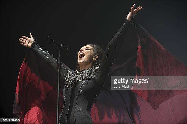 Malu performs on stage at Palau Sant Jordi on December 23 2016 in Barcelona Spain