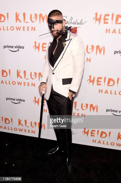 Maluma attends Heidi Klum's 20th Annual Halloween Party presented by Amazon Prime Video and SVEDKA Vodka at Cathédrale New York on October 31 2019 in...
