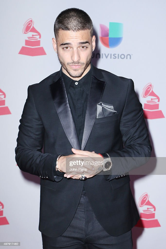 Maluma attends the 16th Latin GRAMMY Awards at the MGM Grand Garden Arena on November 19, 2015 in Las Vegas, Nevada.