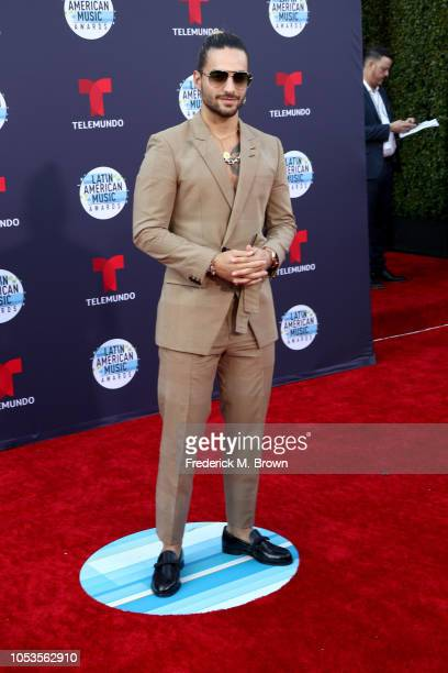 Maluma attends the 2018 Latin American Music Awards at Dolby Theatre on October 25 2018 in Hollywood California