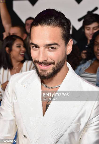 Maluma attends the 2018 MTV Video Music Awards at Radio City Music Hall on August 20 2018 in New York City