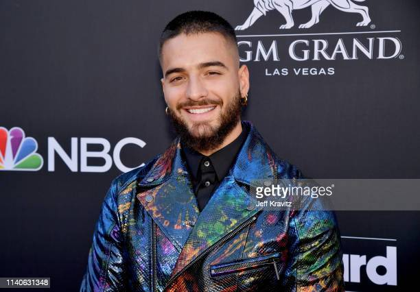 Maluma attends the 2019 Billboard Music Awards at MGM Grand Garden Arena on May 1, 2019 in Las Vegas, Nevada.