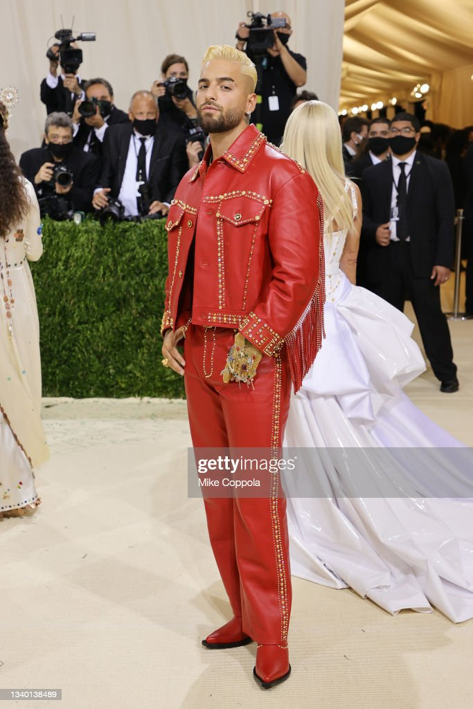 The 2021 Met Gala Celebrating In America: A Lexicon Of Fashion - Arrivals : Nieuwsfoto's