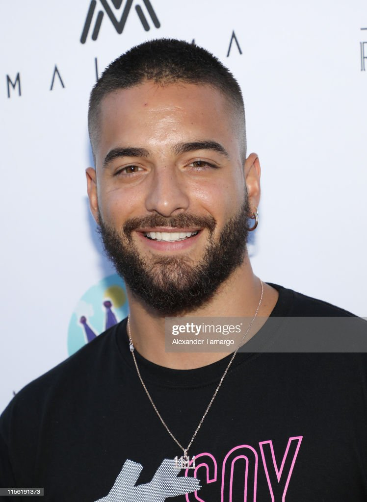 Maluma's El Arte de los Suenos Foundation Cocktail Party : Fotografía de noticias