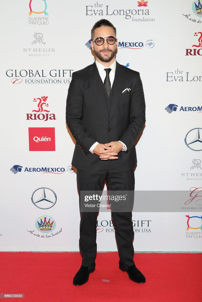 Maluma attends The Global Gift Gala Mexico 2017 at St. Regis Hotel on November 1, 2017 in Mexico City, Mexico.