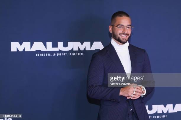 """Maluma attends the Premiere Of YouTube Original's """"Maluma: Lo Que Era, Lo Que Soy, Lo Que Seré"""" at Auditorio BlackBerry on June 4, 2019 in Mexico..."""