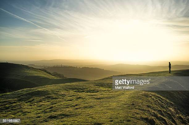 malvern hills, worcestershire, england, uk - hill stock pictures, royalty-free photos & images
