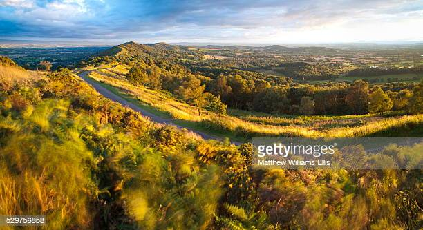 malvern hills, worcestershire, england, united kingdom, europe - worcestershire stock photos and pictures