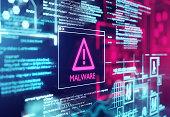 Malware Detected Warning Screen
