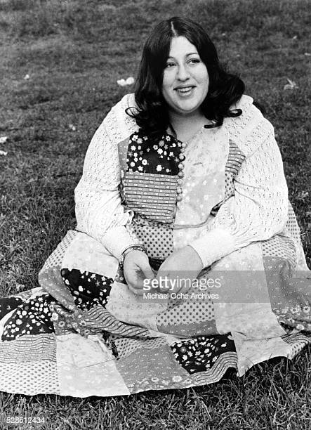 Mama Cass Elliot poses for a portrat for her solo career in 1968 in Los Angeles