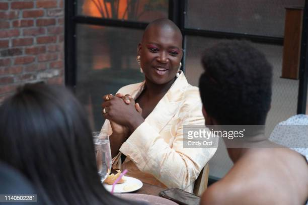 Mama Cax attends The Beauties Presented By Beautycon And SheaMoisture on April 04 2019 in New York City