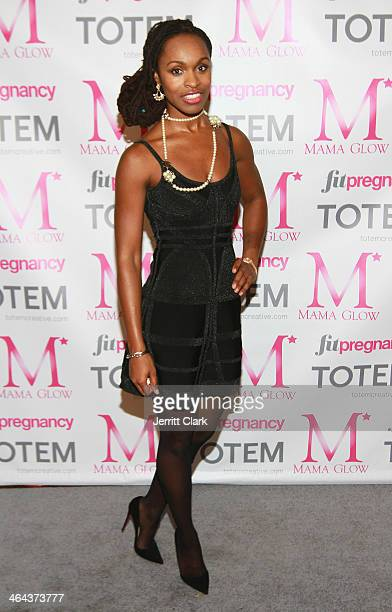 Mama Glow founder Latham Thomas attends the Mama Glow 3 year anniversary celebration at Dune Studio on January 21 2014 in New York City