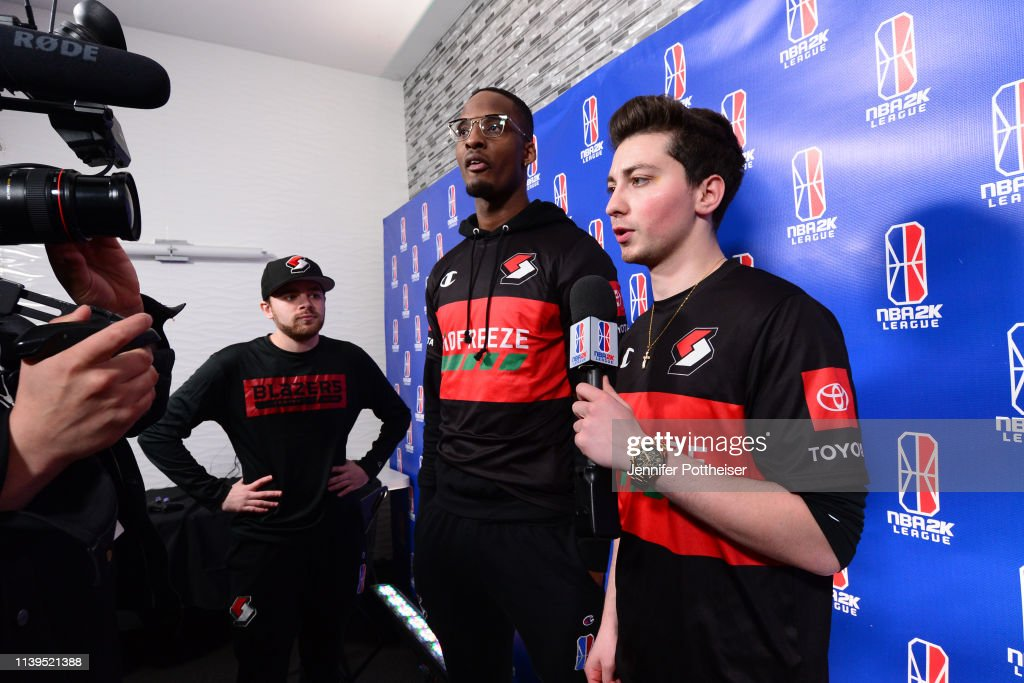 Mama Im Dat Man Of Blazer5 Gaming Talks With The Media After The