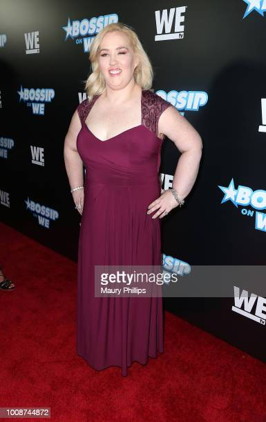Mama June attends Bossip Best Dressed List Event on July 31 2018 in Los Angeles California