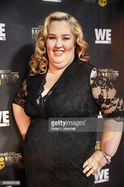 Mama June Shannon attends 'Growing Up Hip Hop' Atlanta premiere at SCADshow on January 5 2016 in Atlanta Georgia