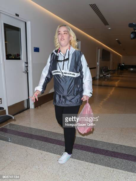 Mama June Shannon is seen on January 10 2018 in Los Angeles California