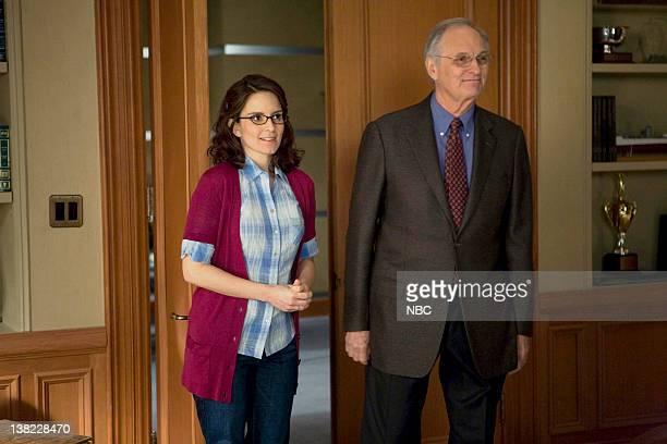 30 ROCK Mama Mia Episode 321 Pictured Tina Fey as Liz Lemon Alan Alda as Milton Greene