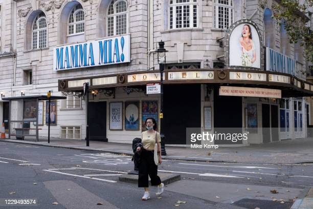 Mama Mia the musical remains closed as Londoners await the imminent second coronavirus lockdown it's business as usual in the West End with large...