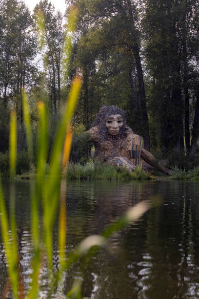 WY: Artist Creates Recycled Sculptures In Nature
