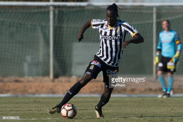 Mamadou Fall during the friendly match between Royal Charleroi SC vsYanbian Funde FC at Pinatar Arena Murcia SPAIN 10th January of 2018