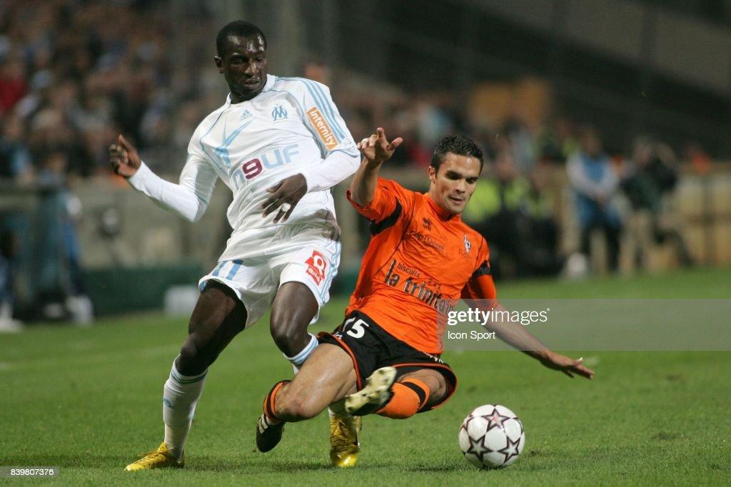 Mamadou NIANG / Jeremy MOREL - Marseille / Lorient - - 12eme journee de Ligue 1 -